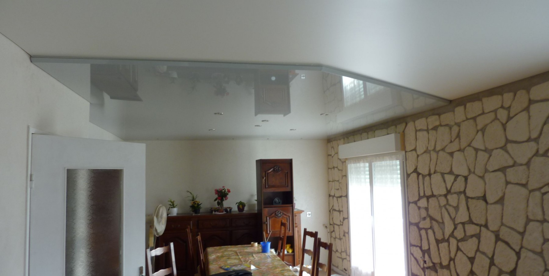 Plafond for Plafond tendu prix