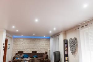 Salon - plafond-tendu