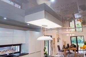 Cuisine et salle à manger - plafond-tendu