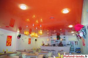 Restaurant - plafond-tendu